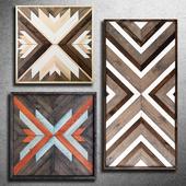 Wooden panel 79