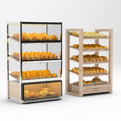 Bread racks with filling