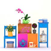 Sweet home decor set