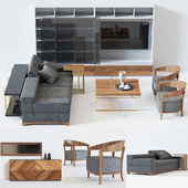 Furniture set for living room DALAS
