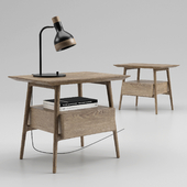 Side table wooden