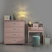 Children's furniture Adelina from Russian brand Shelf 02