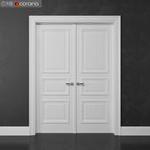 Interroom double door