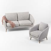 Hanna sofa armchair