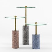 KARE Design - Set of Terrazzo Visible Side Tables