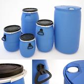 Plastic Barrels Set