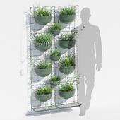 Painel jardim vertical