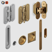 Door fittings Volkhovets from AGB and Simonswerk