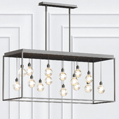Zarina Linear Chandelier By Eurofase