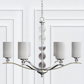 Englehorn Chandelier By Sea Gull Lighting