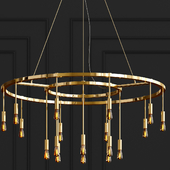 Vaghe Stelle Chandelier By Santa & Cole