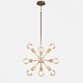 LIMELIGHT CHANDELIER By Quoizel