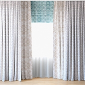 Curtains 26 | Curtains with tulle