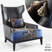 armchair - The Black Attitude - by Momenti Casa