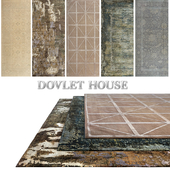 Ковры DOVLET HOUSE 5 штук (part 307)