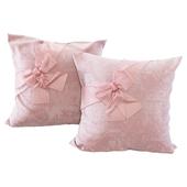 Розовые подушки с бантами (Pink pillows with bows YOU)