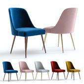 West Elm Mid-Century Chair. Velvet