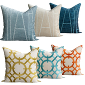 Velvet Applique pillow