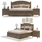 Modern Country Storage Bed