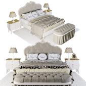 Bed GRUPPI NOTTE FLOREALE 160 Signorini & Coco
