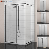 Radaway Showers | Modo New Black Frame