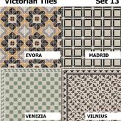 Topcer Victorian Tiles Set 13