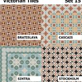 Topcer Victorian Tiles Set 15