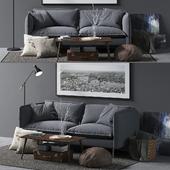Loft Designe Sofa model 2963