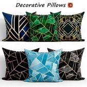 Decorative Pillow set 173 Art Deco