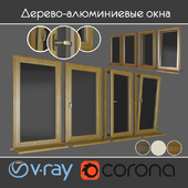 Wood - aluminum windows, view 01 part 01 set 02