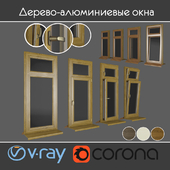 Wood - aluminum windows, view 01 part 01 set 03