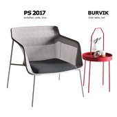 Ikea PS 2017 gray armchair