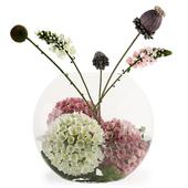 Aquarium of flowers