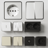 Werkel Gallant Series Overhead Sockets & Switches