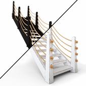 Деревянная лестница |2