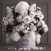 A bouquet of flowers in a gift box 88.