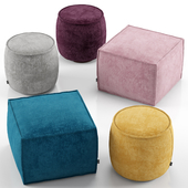 Muffin and Soap ottoman - Calligaris