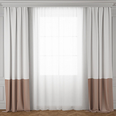 Curtain pink