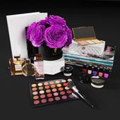 Decorative set cosmetics vol1