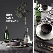 Table settings loft