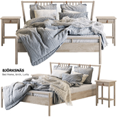 Bed BJORKSNAS Ikea / Ikea