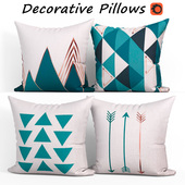 Decorative Pillow set 191 BLUETTEK Modern