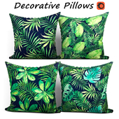 Decorative Pillow set 194 BLUETTEK Tropical