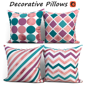 Decorative pillows set 195 BLUETTEK