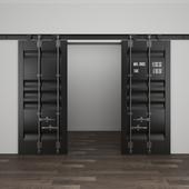 Double door granary