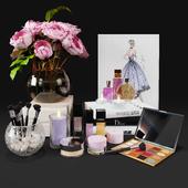 Decorative set cosmetics vol2