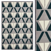 Carpet Think Rugs Hong Kong 1374 Grey/Green