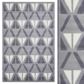 Carpet Think Rugs Hong Kong 1374 Grey/Ivory