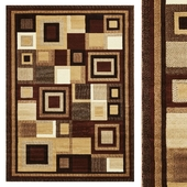 Carpet Think Rugs Hudson 3222 Brown/Beige