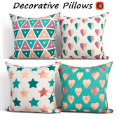 Decorative pillows set 196
